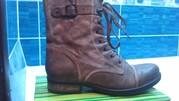 продам кожаные ботинке немецкой фирмы tamaris