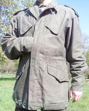 Голландская армейская куртка (KL gevechtsjas М58) 1990 г. -Настоящая!
