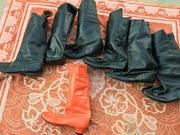 Продаются мужские  чёрные сапоги для танц.коллектива